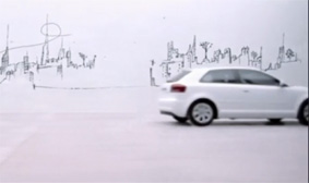 Un frame dell'ultimo spot per Audi by Francesco Taddeucci