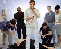 Alcuni personaggi di Dexter, in Italia in onda su FX