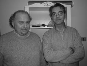 Sergio Anceschi e Sergio Giacomini