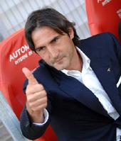 Angelo Gregucci è il nuovo allenatore del Sassuolo (foto Sky Sport)