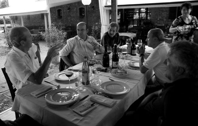 Da sinistra in senso orario: Sola, Caselli, Prini, Termanini, Giovanelli.