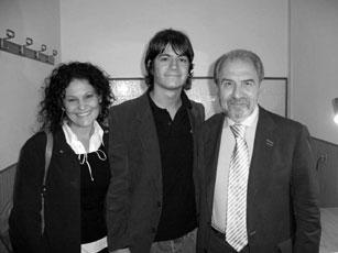 Antonio Caprarica con i giornalisti del