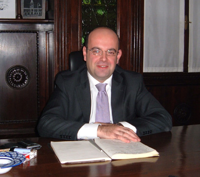 Luca Caselli, sindaco di Sassuolo