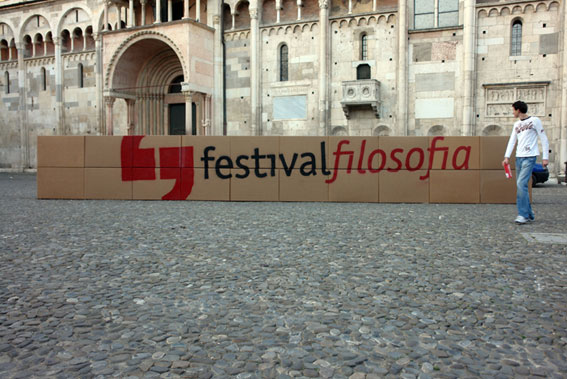 Piazza Grande a Modena (foto Tuliozi)
