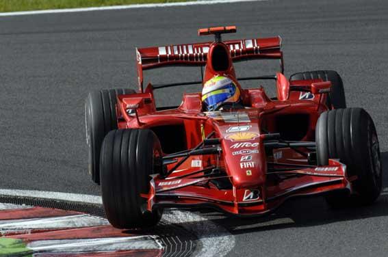 La Ferrari 2007 di Massa