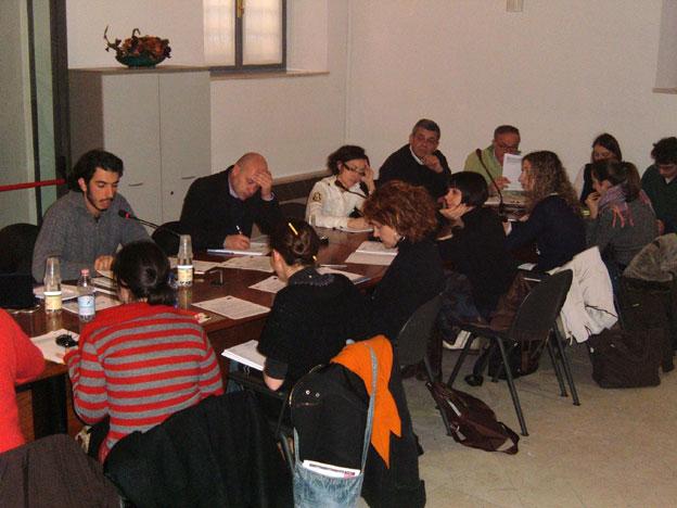 La lezione di Gabriele Del Grande, per il progetto Dialogue