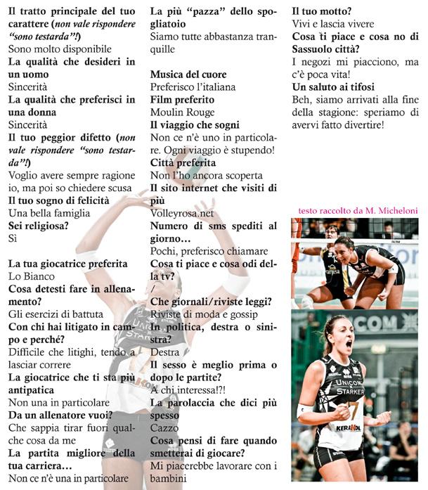 L'intervista a Giulia Rondon